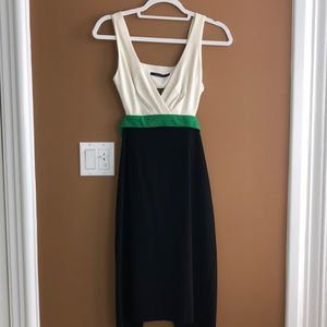 Black halo dress small